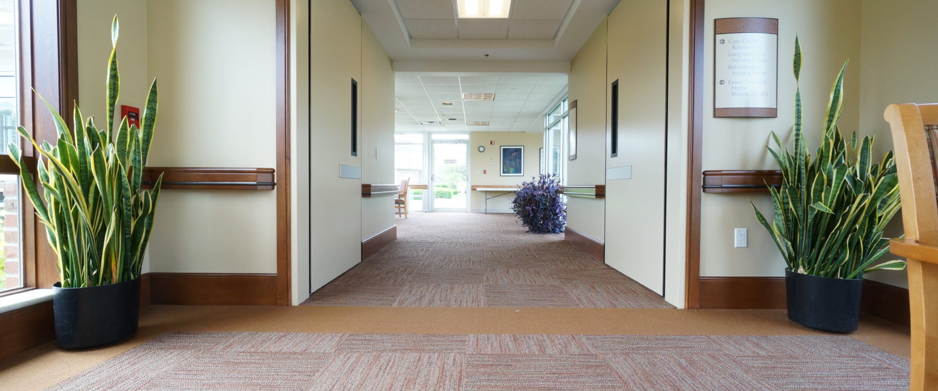 Area Separation Doors on Hold Open