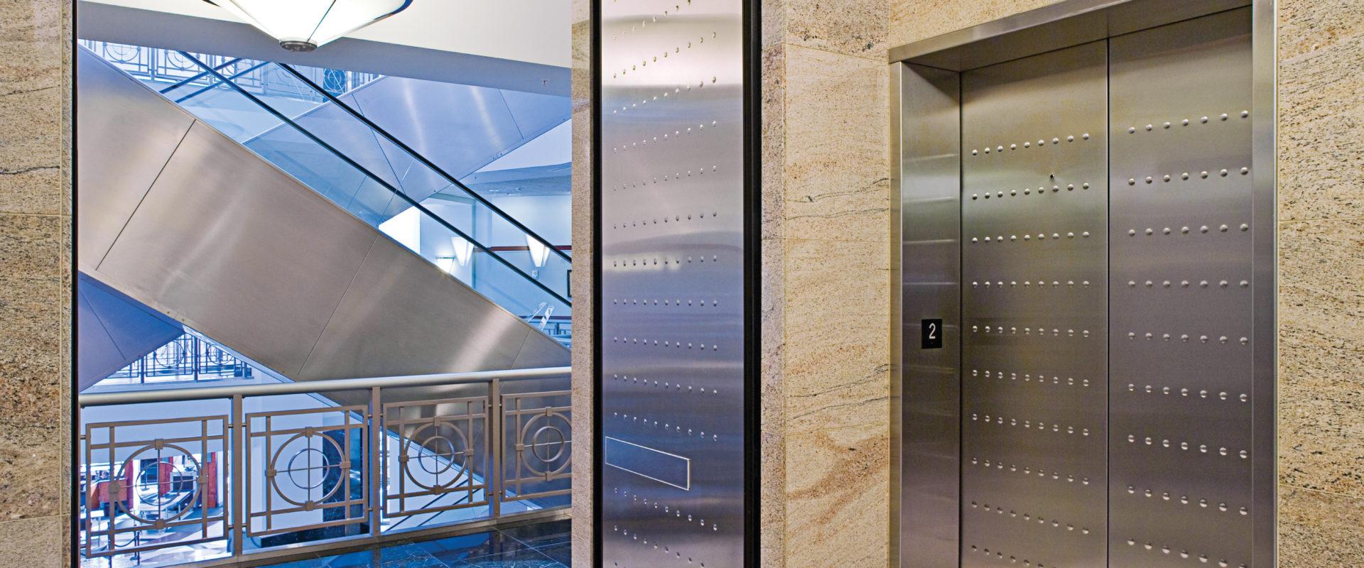 Total Door Hold Open Lobby Door
