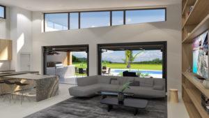 EVO Door Fully Open Residence